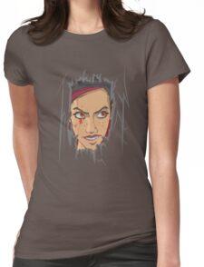 Heeeeeeeeeere's Mary! Womens Fitted T-Shirt