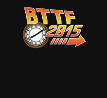 Back to the Future 2015 Logo with Clock Unisex T-Shirt