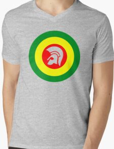 Trojan Mens V-Neck T-Shirt