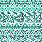 Tribal Simplicity I by Pom Graphic Design
