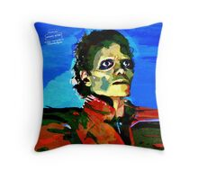 Totally Thrilled - Retro Throw Pillow
