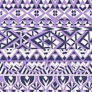 Tribal Simplicity II by Pom Graphic Design