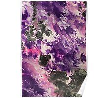 Purple Splash Poster