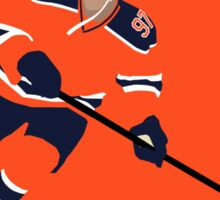 Minimalist Connor McDavid Sticker