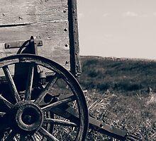 Antique Wooden Wagon by rhamm