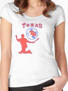 off-center beltre Women's Fitted Scoop T-Shirt