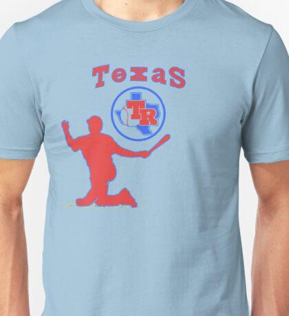 off-center beltre Unisex T-Shirt