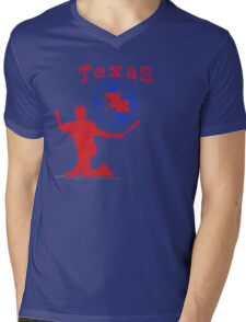off-center beltre Mens V-Neck T-Shirt