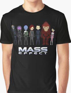 Mass Effect Cartoon - Jane Shepard Graphic T-Shirt