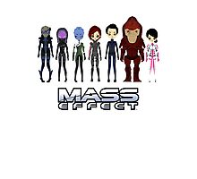Mass Effect Cartoon - Jane Shepard Photographic Print