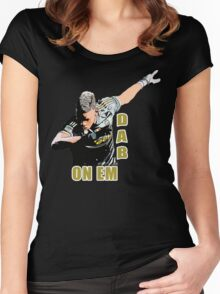 Dab On Dance Women's Fitted Scoop T-Shirt