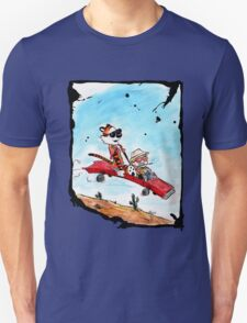 Calvin and Hobbes Fear and Loathing Parody Unisex T-Shirt