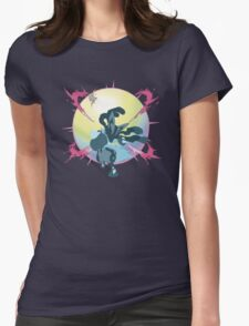Mega Lucario Womens Fitted T-Shirt