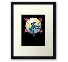 Mega Lucario Framed Print