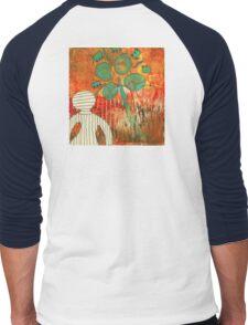 Camera Shy (Monotype) Men's Baseball ¾ T-Shirt