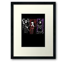 Demon's Waifus Framed Print