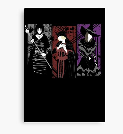 Demon's Waifus Canvas Print