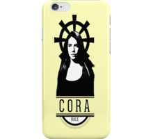 Can see your halo: Cora iPhone Case/Skin