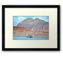 Lake Powell in Page, Arizona Framed Print