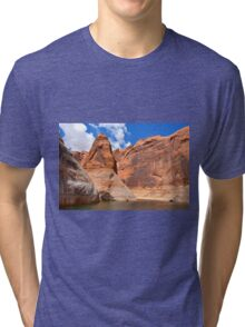 Lake Powell in Arizona, USA Tri-blend T-Shirt