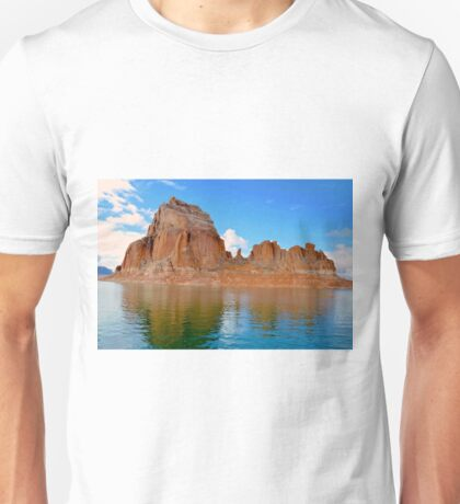 Lake Powell in Page, Arizona USA Unisex T-Shirt