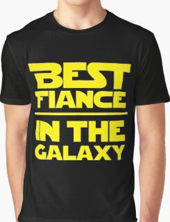 Best Fiance in the Galaxy Graphic T-Shirt