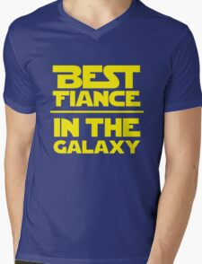 Best Fiance in the Galaxy Mens V-Neck T-Shirt