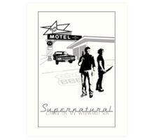 Winchester Motel  Art Print
