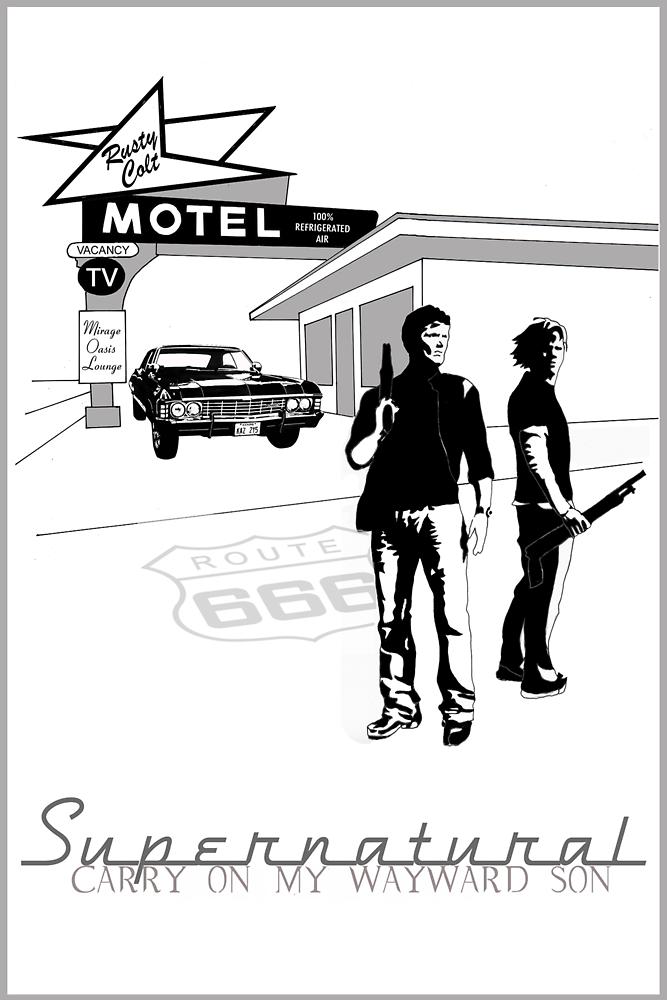 Winchester Motel  by tashley