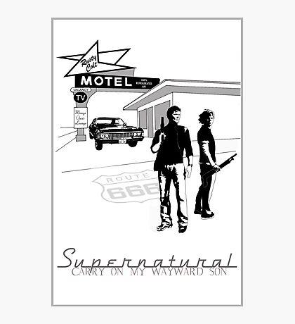 Winchester Motel  Photographic Print