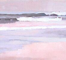 Breakwater Surf by lynnGrayson