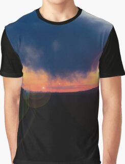 Sunset in the Valley Graphic T-Shirt