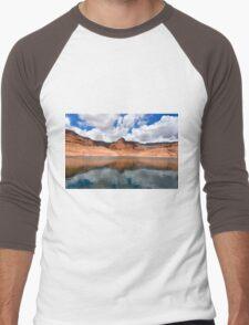 Lake Powell in Arizona, USA Men's Baseball ¾ T-Shirt