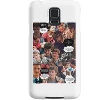 Augustus Waters The Fault In Our Stars Collage Samsung Galaxy Case/Skin
