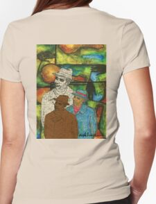 The Musician: Mind-Body-SOUL Womens Fitted T-Shirt