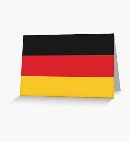 German Flag If you like, please purchase, try a cell phone cover thanks Greeting Card