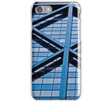 Urban Lines on a Building in San Francisco iPhone Case/Skin