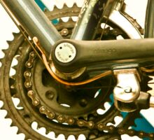 Bicycle Gears Sticker