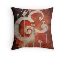 Ampersand in Red : v.01 Throw Pillow