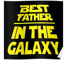 Best Father in the Galaxy - Title Crawl Poster