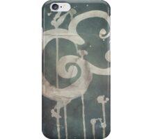Ampersand in Blue : v.01 iPhone Case/Skin