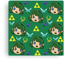Saria's Pattern  Canvas Print