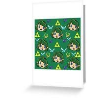 Saria's Pattern  Greeting Card