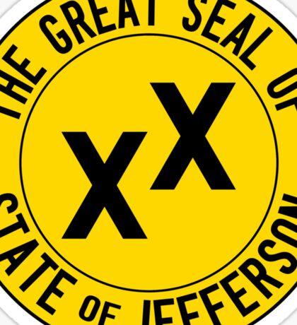 State of Jefferson Sticker