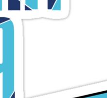 Flight 309: Blue Sticker