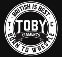Toby Clements 'British Is Best' Small Logo Artwork #5 One Piece - Short Sleeve