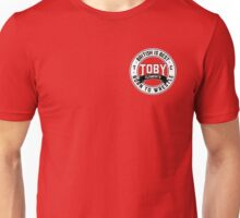 Toby Clements 'British Is Best' Small Logo Artwork #5 Unisex T-Shirt
