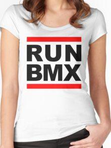Run BMX Women's Fitted Scoop T-Shirt