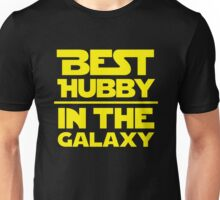Best Hubby in the Galaxy Unisex T-Shirt