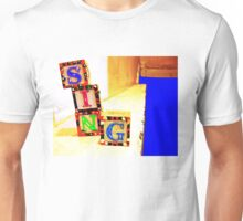 Sing! Baby Blocks Unisex T-Shirt